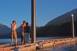 Boys At Wallowa Lake B M05 Web