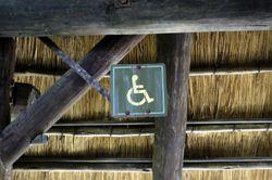 Thatched Handicap Sign M03 web
