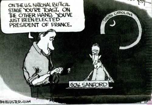 Sanford Political Cartoon