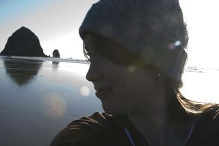 Self Portrait Cannon Beach M09 web