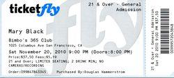 Mary Black Ticket web M10