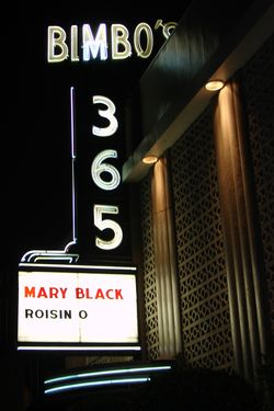Mary Black Sign M10