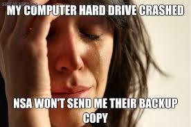 NSA Hard Drive