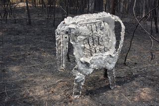 Burned Chair M6-13